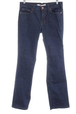 J brand Jeansy z prostymi nogawkami ciemnoniebieski W stylu casual