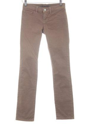J brand Straight-Leg Jeans hellbraun Casual-Look