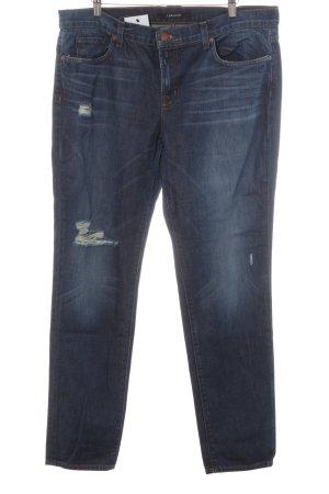 J brand Straight-Leg Jeans stahlblau Jeans-Optik