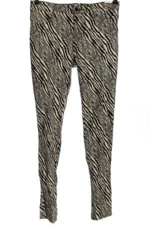 J brand Stretchhose schwarz-wollweiß Casual-Look