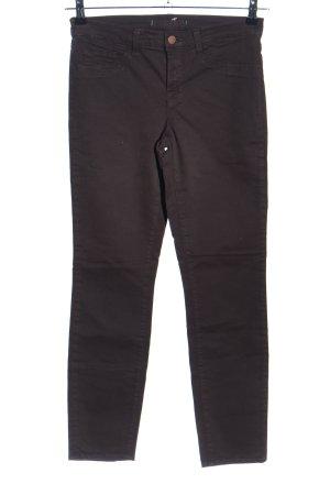 J brand Jeansy z prostymi nogawkami brązowy W stylu casual