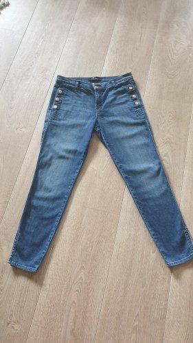 J brand Jeansy 7/8 niebieski