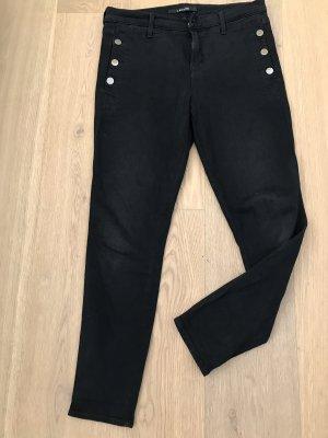 J Brand Zion Jeans schwarz mit Knöpfen Gr. 40