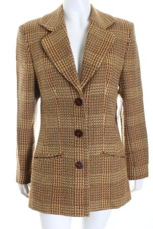 J. Braun Blazer en laine multicolore style classique