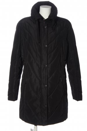 J&C Quilted Jacket black casual look
