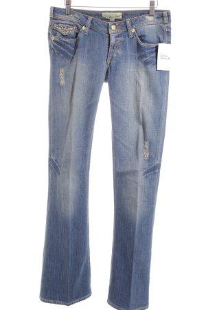 J & Company Slim Jeans blau Casual-Look