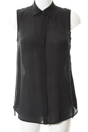 J.crew ärmellose Bluse schwarz Elegant