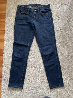 Jeans carotte bleu foncé
