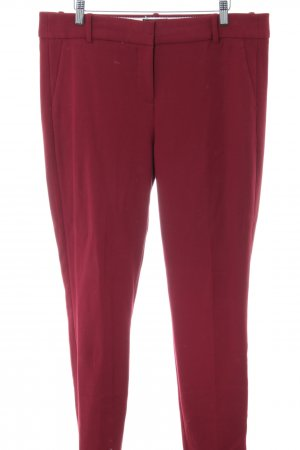 J.crew Pantalone da abito rosso stile professionale