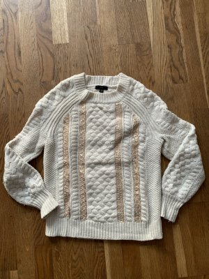 J.crew Maglione di lana crema