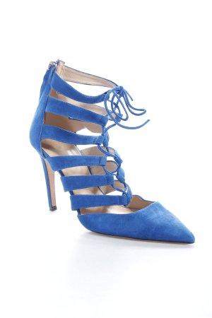 J.crew High Heel Sandaletten blau
