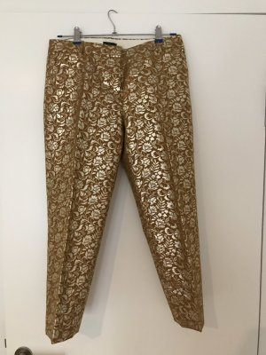 J. Crew Hose in gold-braun