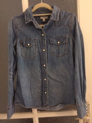 J.crew Denim Shirt azure