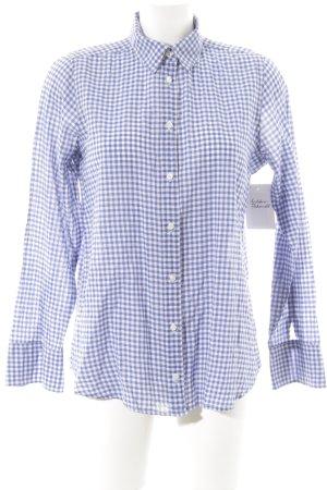 J.crew Geruite blouse wit-blauw geruite print casual uitstraling