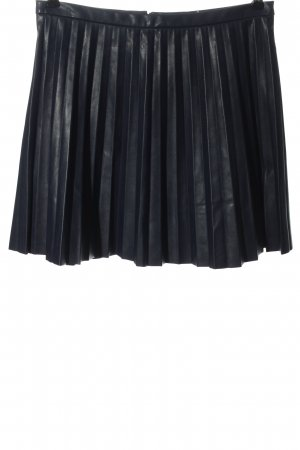 J.crew Faux Leather Skirt blue casual look