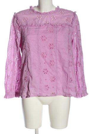 J.crew Camicetta a maniche lunghe rosa stile casual