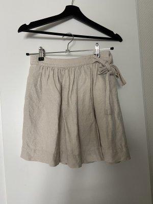 J.crew Linen Skirt cream