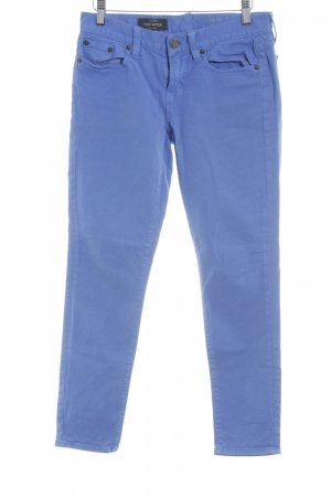 J.crew Jeans a sigaretta blu neon stile casual