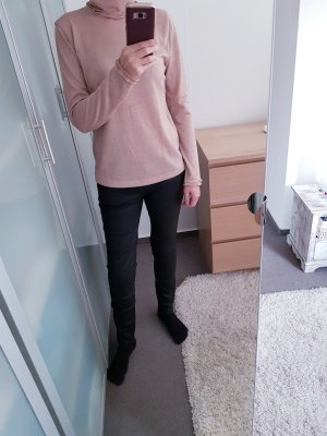 J.crew Pull-over à col roulé rose chair