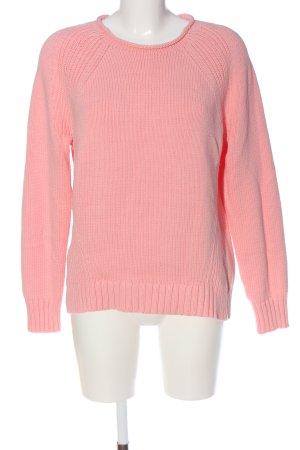 J.crew Rundhalspullover pink Casual-Look
