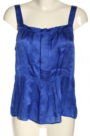J.crew Seidentop blau Casual-Look