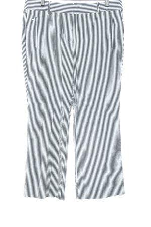 J.crew Pantalon en jersey noir-blanc motif rayé style d'affaires