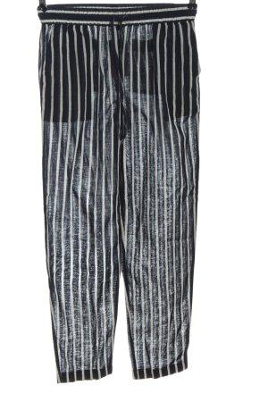 J.crew Pantalon en jersey noir-blanc imprimé allover style décontracté
