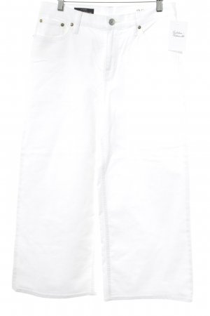 J.crew Straight Leg Jeans white casual look
