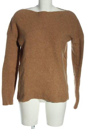 J.crew Maglione lavorato a maglia marrone stile casual