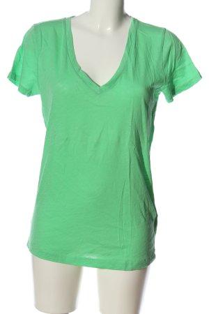 J.crew T-Shirt grün Casual-Look