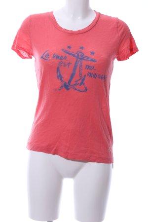 J.crew T-Shirt rot-blau Casual-Look