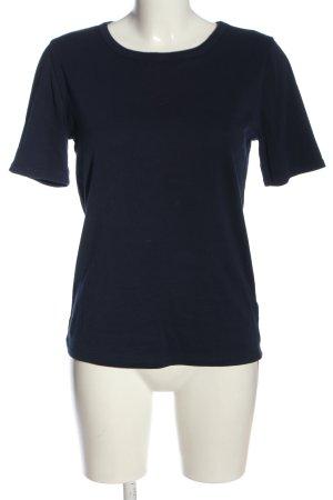 J.crew T-Shirt blau Casual-Look
