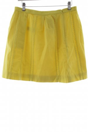 J.crew Circle Skirt yellow casual look