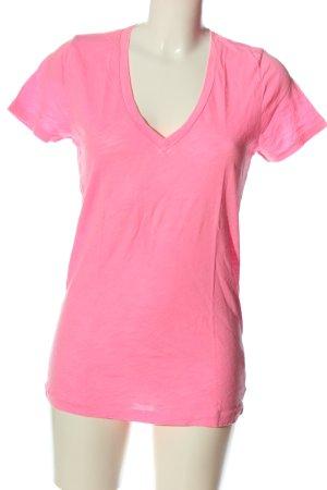 J.crew V-Ausschnitt-Shirt pink Casual-Look