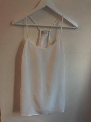 J.crew Camiseta sin mangas blanco-blanco puro