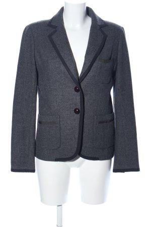 J.crew Blazer en laine noir-gris clair moucheté style d'affaires