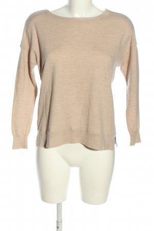J.crew Wollpullover creme meliert Casual-Look