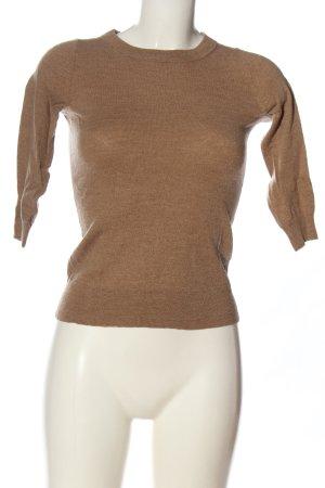J.crew Maglione di lana marrone stile casual