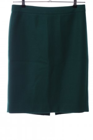 J.crew Wool Skirt green business style