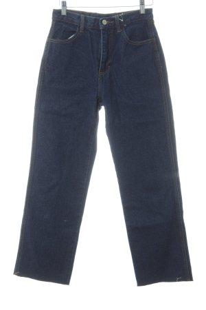J. Galt Straight-Leg Jeans dunkelblau Casual-Look