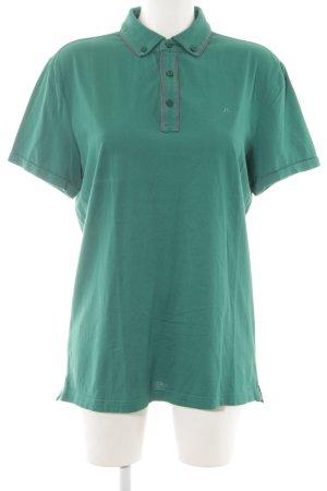J.lindeberg Polo-Shirt grün-blau Business-Look