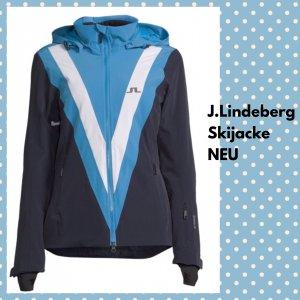 J.lindeberg Giacca invernale petrolio-blu neon Tessuto misto