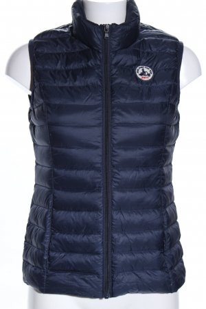 J.O.T.T. Quilted Gilet blue quilting pattern casual look