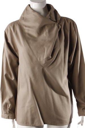 J.P.Jones Vintage-Bluse asymmetrischer Verschluss