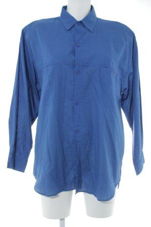 J.P.Jones Vintage-Hemdbluse blau