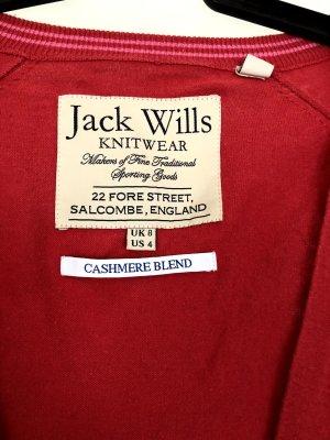 Jack Wills Sudadera de cachemir rojo Algodón
