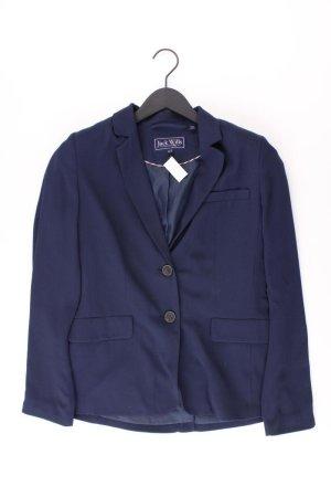 Jack Wills Blazer Größe US 6 blau aus Polyester