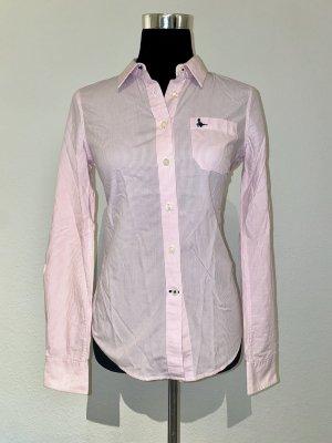 Jack Wills Bluse rosa weiß gestreift