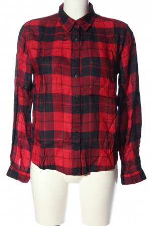 Jack Wills Flannel Shirt red-black allover print casual look