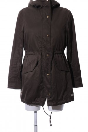 Jack Wills Parka braun Business-Look
